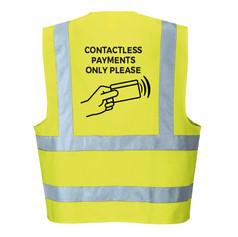 Contactless Payment Hi-Viz Vest