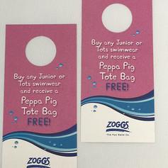 Promotional door hangers