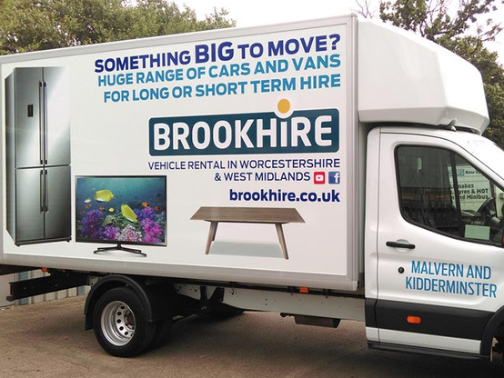 Luton Van Wrap for Brookhire