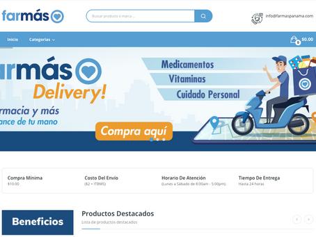 Farmás lanza nueva página de comercio electrónico
