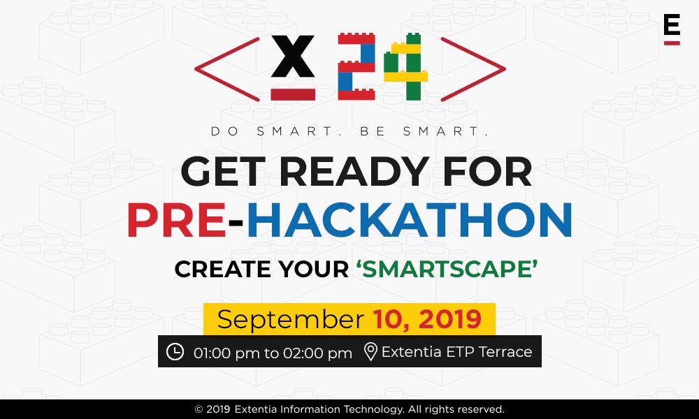 Smartscape pre-hackathon event