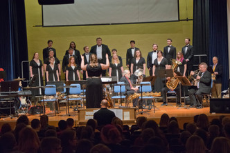 Conducting the Castleton University Chamber Choir