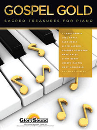 """""""Gospel Gold"""" piano book by Patti Drennan and others"""