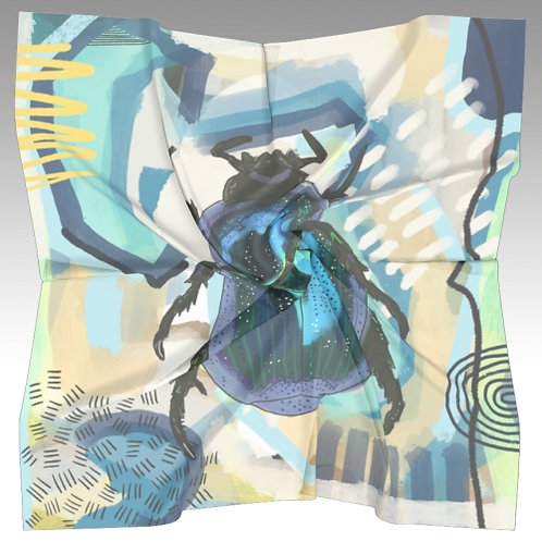 The Scarabeo Silk Scarf