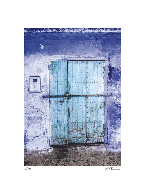 Blue Door: Chefchaouan