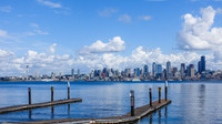 View of Seattle from Kirkland, WA
