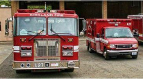 Birthday Party at Kirkland Fire Station