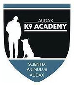 2 private sessions with AUDAX K9 Academy
