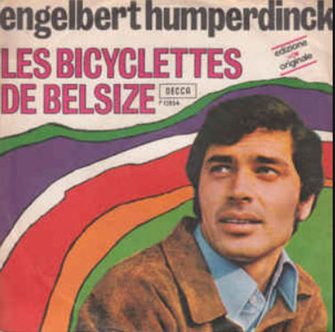 "Englebert Humperdinck met ""Les Bicyclettes de Belsize"""