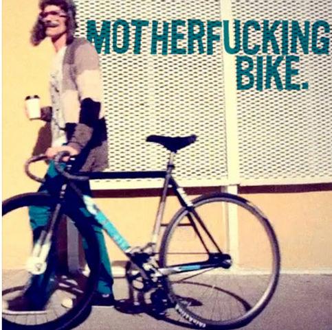 'Motherfucking Bike' van Sons of Science