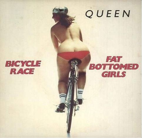 'Bicycle Race' van Queen