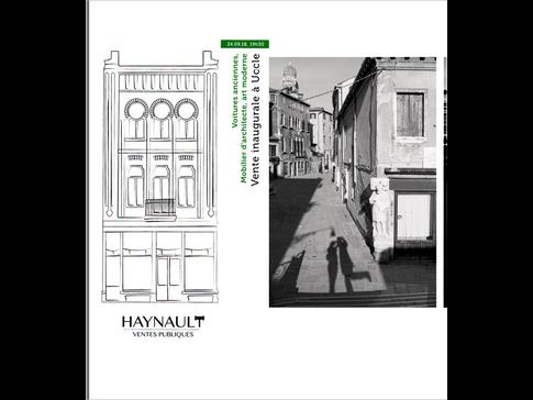 Auction sale at Haynault, Brussels, Belgium
