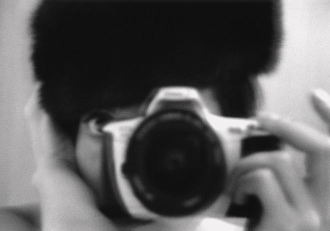 Photo by Sterenn Denys, Self-Portrait II, Cambridge, UK, 1999