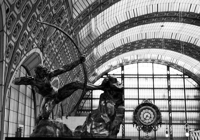 Photo by Sterenn Denys, Musée d'Orsay, Paris, France, 2004