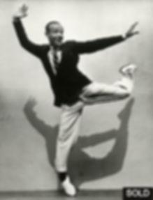 Photo by Martin Munkacsi, Fred Astaire, LIFE, 1936