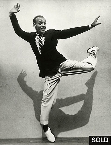 Photo by Martin Munkacsi, Fred Astaire, LIFE, 1936