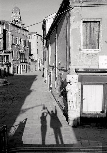 Photo by Sterenn Denys, In Venice With Happiness III, Italy, 2000