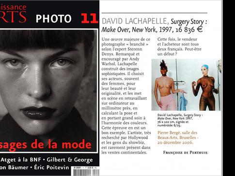 Connaissance des Arts, Expertise & vente Photographies Modernes et Contemporaines à Paris, Bruxelles, Genève