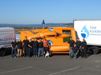 The Flood Guys join Huff Motorsports as Title Sponsor of the e98 Pro-Lite Hydroplane