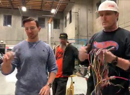 Electric Dragster Sneak Peak at AEM
