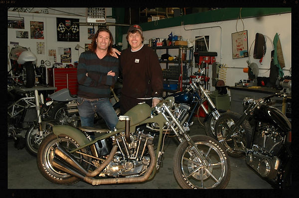 alice in chains custom builds motorcycle harley davidson sean kinney