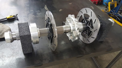 e-spec Racecars rear axle assembly