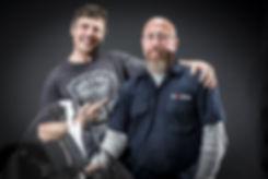 Steve Huff & Bill Guzenski, the motorcycle guy vs the car guy