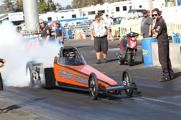 e-Spec Racecars a division of Steve Huff Motorsports world record holder unlimited volt electric dragster