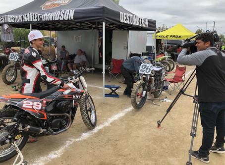 Podium In Perris, CA for Steve Huff Motorsports Team 15yo rider David Kohlstaedt