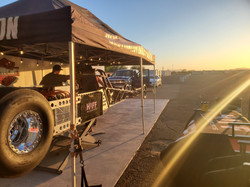 Sunset at Tucson Dragway