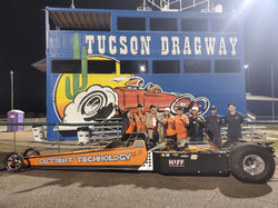 Tucson Dragway record making electric dr