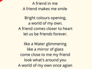Poem: 'Rainbow Friendship' (listen or read here...)
