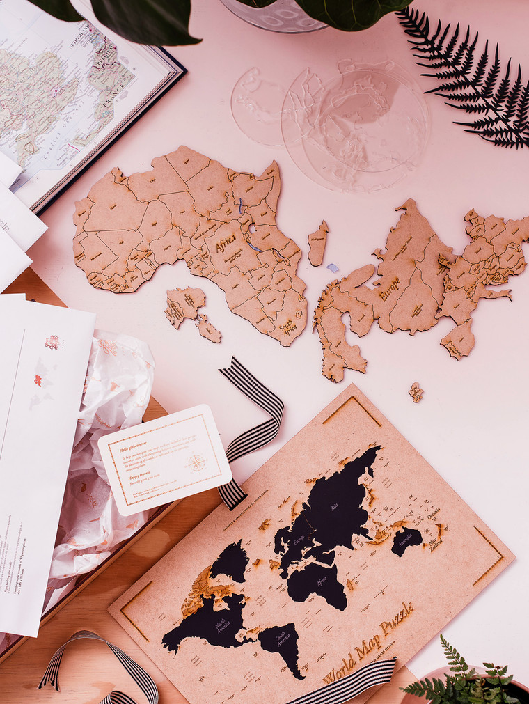 Africa world puzzle