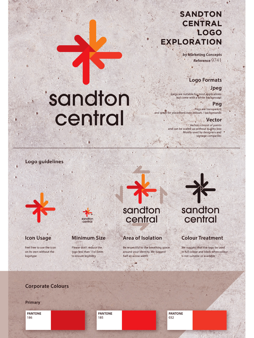 Sandton Central Logo Rebrand