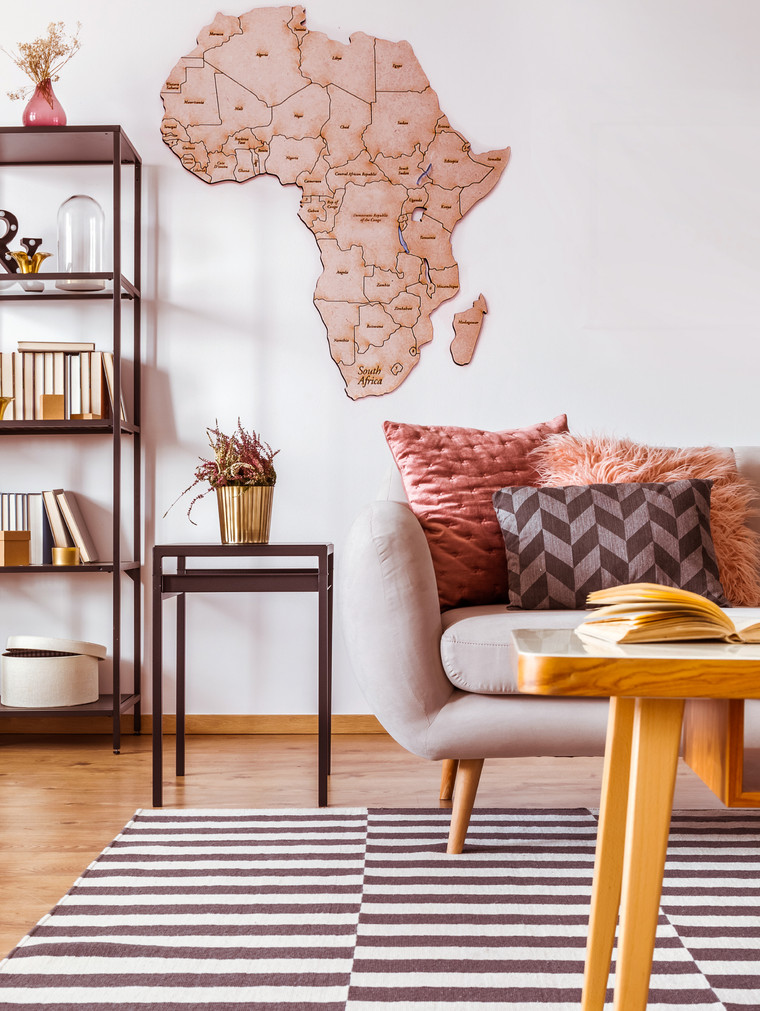 Africa wall puzzle
