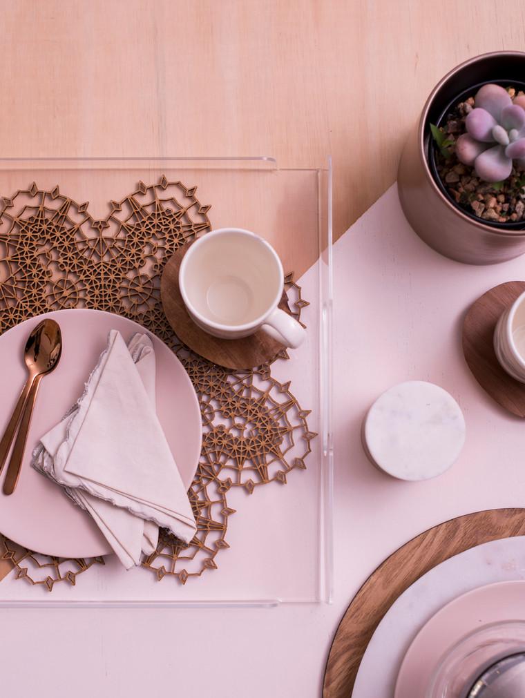 Tea time tray