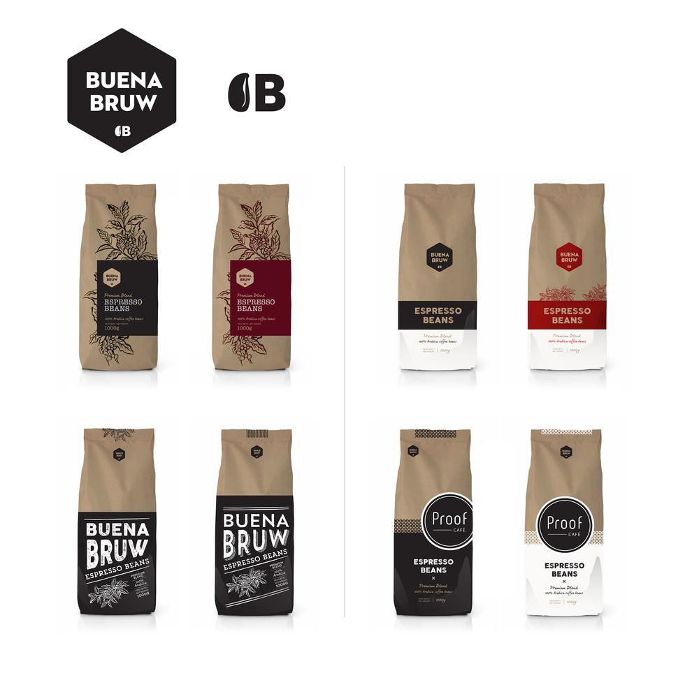 Doppio Zero Coffee Branding