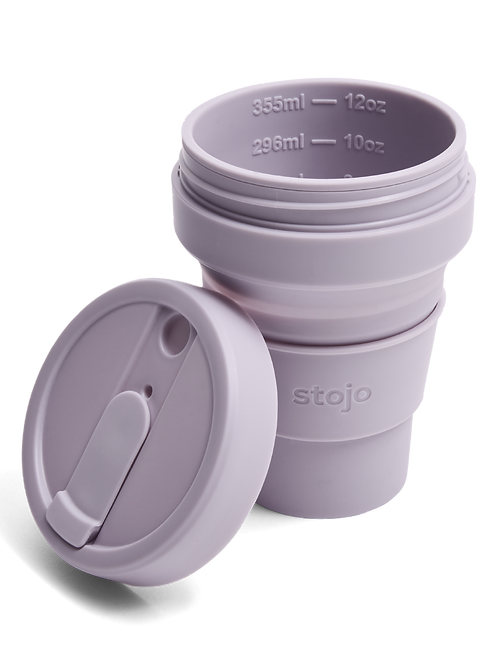 Stojo 12 oz Collapsible Coffee Mug - Lilac