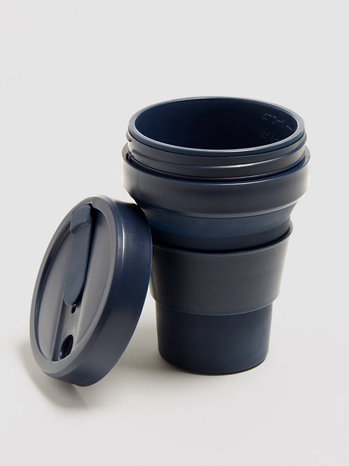 Stojo 12 oz Collapsible Coffee Mug - Denim