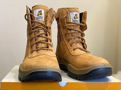 Mongrel Work Boot- High Leg ZipSider