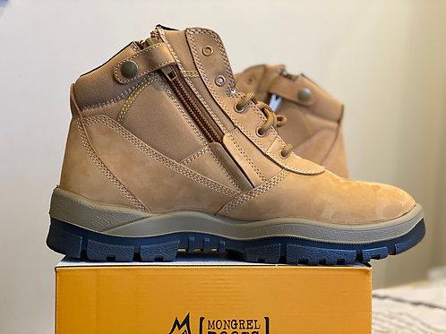 Mongrel Work Boot- Wheat ZipSider