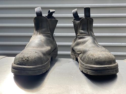 Steel Blue boots Slip ons Diesel Mech