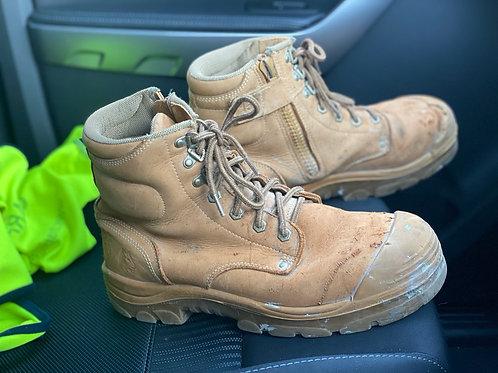 Steel Blue 152 work boots.