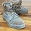 Thumbnail: Size 8 men's steel blue (mining boot)