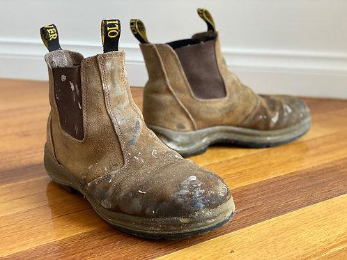 Oliver work boots slip on