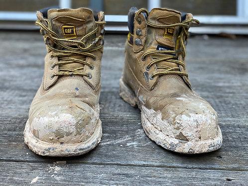 Caterpillar mens work boot - Scruff Range