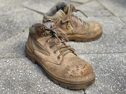 Steel Blue low collar - Carpenter Boot