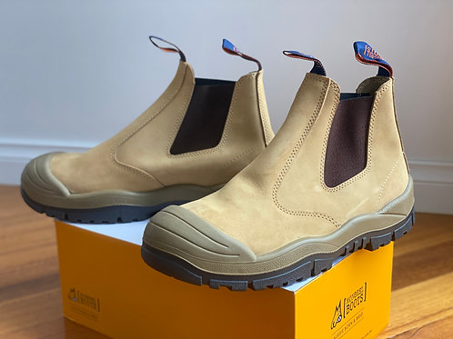 Mongrel Wheat Elastic Sided boot