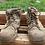 Thumbnail: Steel Blue Side Zip boots