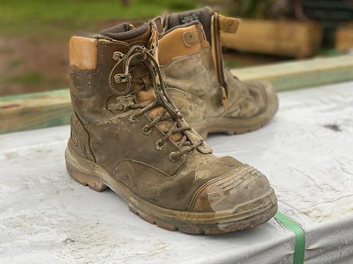 Oliver AT steel cap work boots - Lanscaper